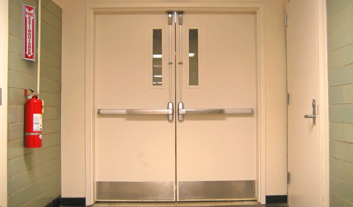 Fire Rated Door Emergency Exit Door K Furniture Steel