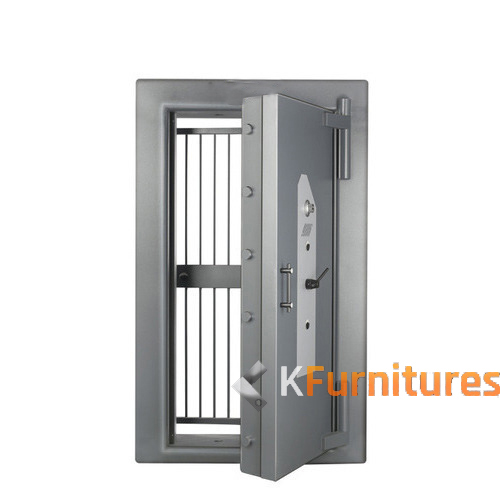 Strong Room Door With Grill Kfurnitures Steel Furniture