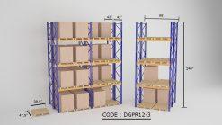 Double Deep Pallet Racking