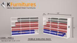 MSR-1, Mobile Shelving Rack
