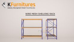Wire Mesh Shelving Rack