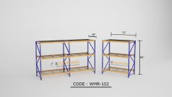 Wire Deck Shelving